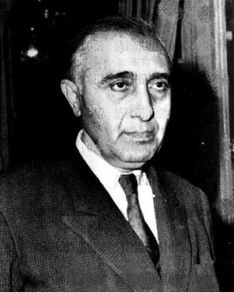 Salah al-Din al-Bitar - Image: Prime Minister Salah al Bitar March 1963