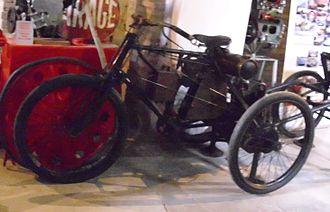 Prinetti & Stucchi - 1899 tricycle
