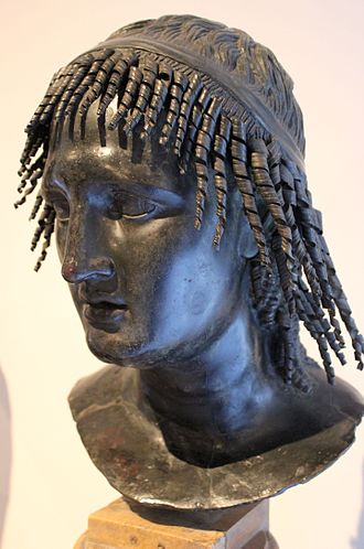 Villa of the Papyri - Bust of Ptolemy Apion.