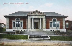 Peabody and Stearns - Public Library, Marlborough, Massachusetts