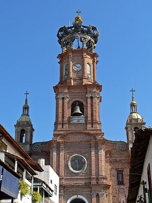 Church of Our Lady of Guadalupe (Puerto Vallarta) - The church in 2005