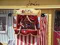 Punch & Judy show at Cowes Week 2011 3.JPG