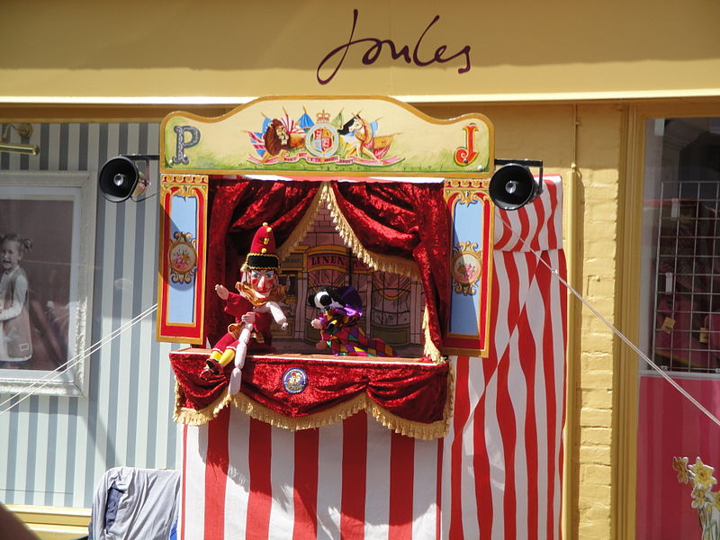 File:Punch & Judy show at Cowes Week 2011 3.JPG