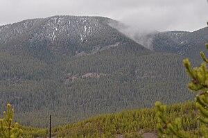 Purple Mountain (Wyoming) - Image: Purple Mountain YNP2010