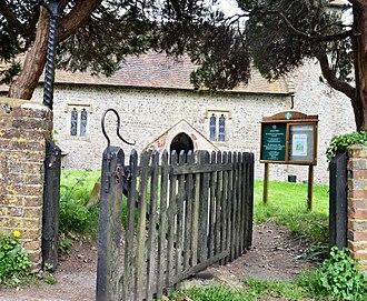 Pyecombe hook - Tapsel Gate,Pyecombe Church