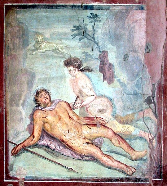 File:Pyramus and Thisbe Pompeii.jpg