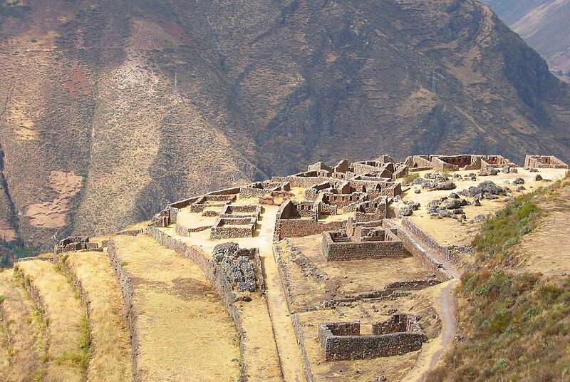 File:QAllaqasa ruins at Pisac, Peru.jpg