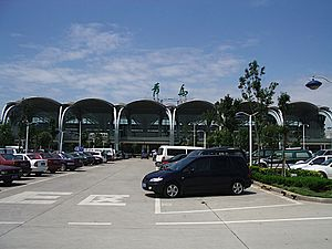 Qingdao Liuting International Airport - Image: Qingdao Airport 01