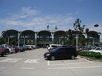 Qingdao Liuting International Airport - Image: Qingdao Airport 01