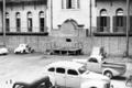 Queensland State Archives 3025 Air Raid Shelters Ann Street Brisbane c 1945.png