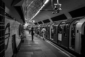 Queensway, London - Queensway Underground Station