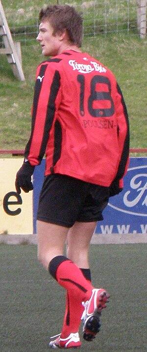 Rógvi Poulsen - Image: Rógvi Poulsen a Faroese Football Player