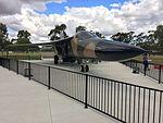 RAAF (A8-142) General Dynamics F111C gate guardian at RAAF Base Wagga (1).jpg