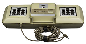 RCA Studio II - Like the Atari 5200, the RCA Studio II uses one cable to carry both video and power for the console.