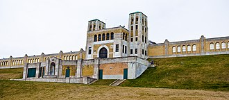 Birch Cliff - The R. C. Harris Water Treatment Plant was completed in Birch Cliff in 1941.