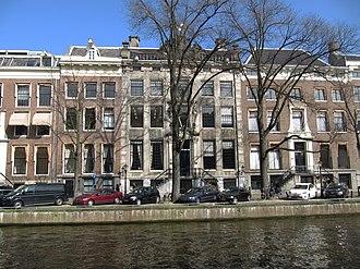 Jan Gildemeester - Huis De Neufville in the Gouden Bocht, home to his art gallery