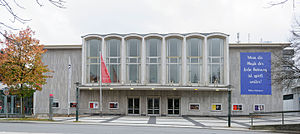Teo Otto Theater - The Theo Otto Theater in Remscheid