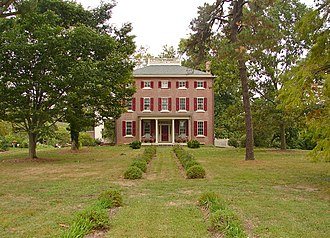 National Register of Historic Places listings in Salem County, New Jersey - Image: R Brick House NJ