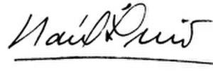 Raúl Leoni - Image: Raúl Leoni firma