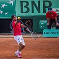 Rafael Nadal VS Simone Bolelli (RG 2012).jpg