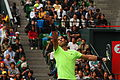 Rafael Nadal saque - 9775 Japan Open Tennis Tokio 2010.jpg