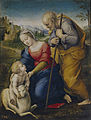 Raffaello Sanzio - La Sagrada Familia con un cordero.jpg