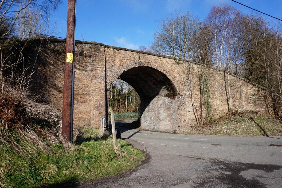 Railway bridge over Doseley Road.jpg
