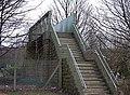 Railway footbridge, Shaw - geograph.org.uk - 681939.jpg