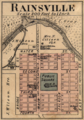 Rainsville Indiana map from 1877 atlas.png