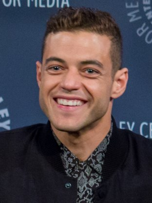 Photo of the 2019 recipient of the Best Actor award: Rami Malek