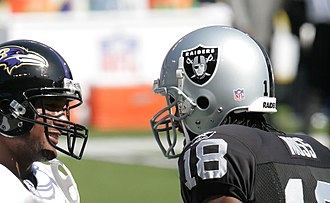 Randy Moss - Moss with the Raiders in 2006