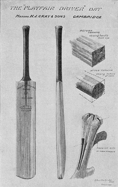Ranji 1897 page 147 Playfair Driver bat.jpg