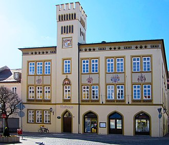 Moosburg - Image: Rathaus moosburg by freak 222 2012