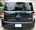 Rear Exterior of 2010 Ford Flex (4537688021).jpg