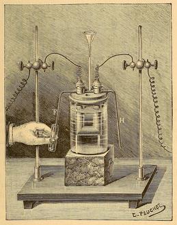 Recherches sur l'isolement du fluor, Fig. 5