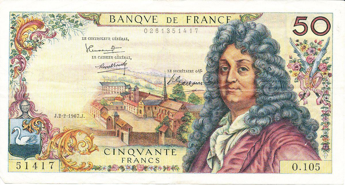 billet de banque 50 francs 1938