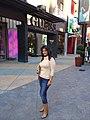 Reema Debnath in Universal CityWalk Hollywood.jpg