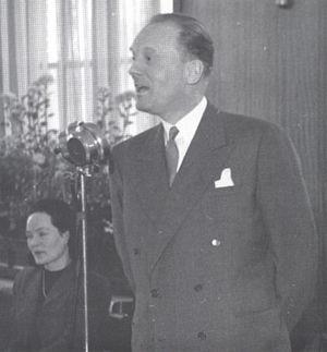 Hilmar Reksten - Hilmar Reksten in 1949.