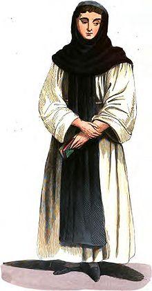 L'abito dei monaci celestini