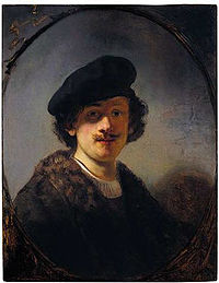 Rembrandt, Self-portrait with Shaded Eyes, 1634.jpg