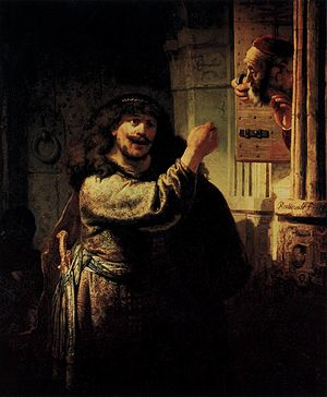 Rembrandt - Samson Accusing His Father-in-Law ...
