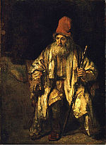 Rembrandt Oil study of an old man with a red hat.jpg