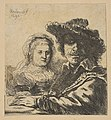 Rembrandt and his Wife (copy) MET DP818390.jpg