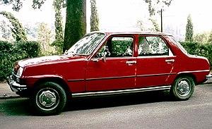 Renault 7 - Image: Renault 7 Siena 1976