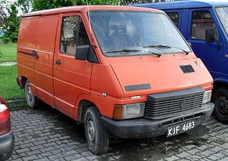 Renault Trafic - Image: Renault trafic jaslo