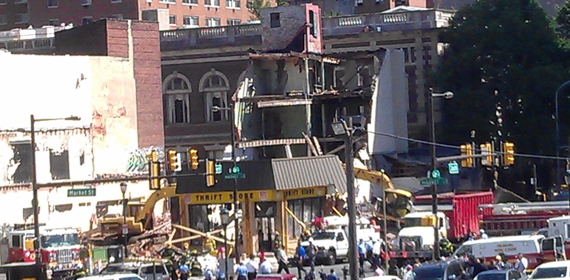Cnn Building Collapse New York