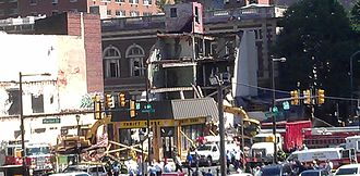 2013 Philadelphia building collapse - Rescue operations on the afternoon of the collapse
