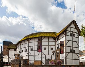 Shakespeare's Globe - Shakespeare's Globe in August 2014