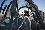 "Retired Cmdr. Dean ""Diz"" Laird sits in the rear seat of a T-34C Turbomentor (28127452931).jpg"