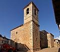 Retuerta, Iglesia de San Esteban, torre y fachada sur.jpg